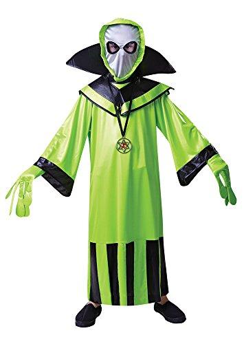 Alien - Kinder-Kostüm - Große 134cm 146cm bis (Kinder Alien Kostüm)