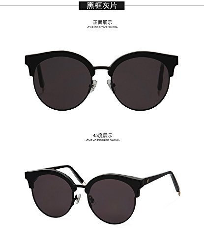 Für sanfte Monster-Sonnenbrille New Gentle man or Women Monster eyeware V brand Sign of Two 01 Black sunglasses for Gentle monster sunglasses -black frame black lensess (Verkaufen Sie Für 1 Dollar)