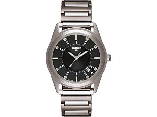 Traser H3 Reloj los Hombres Classic Translucent Black 100337