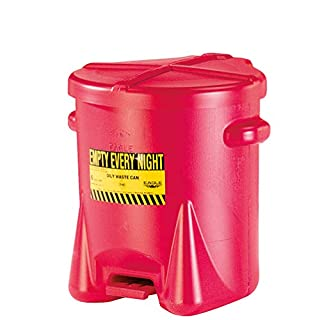 ASECOS Entsorgungsbehälter Fußpedal PE, ØxH 53x530