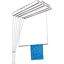 Rainbow Drywell Stainless Steel Luxury Cloth Dryer (6 ft) -6 Pipes
