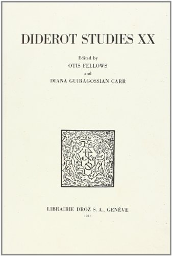 Diderot Studies par Otis Fellows