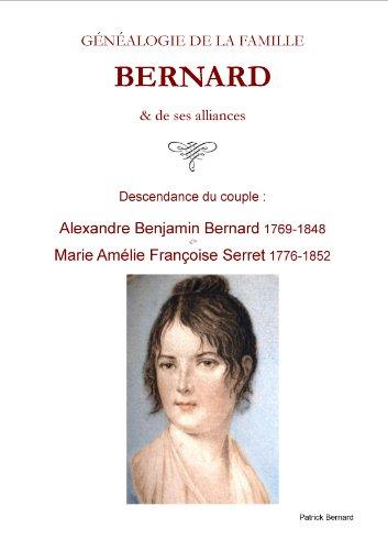 GNALOGIE de la famille BERNARD de Lille
