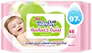 BabyJoy Sensitive Skin, 48 Wet Wipes