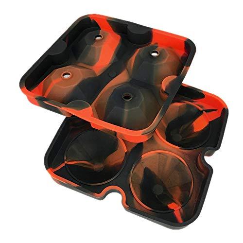 DIY Silikon Eiswürfelform,Rifuli® Diamant Form 3D Eiswürfelformhersteller Bar Party Silikon Eiswürfelschale Schokoladenform Eiswürfelbereiter Fach Eiswürfel(LFGB Zertifiziert)