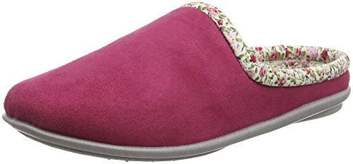 FREESTEP Fulham, Chaussons femme Rouge - Red (Rose 922)
