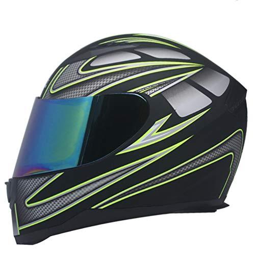 Männer Frauen Integralhelm Off Road Motocross Uv-Schutz Professionelle Erwachsene Helm Atmungsaktivem Komfort Stoff Weiche Flut Leichte Racing Schutzkappen 56-63 cm