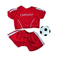 """Liverpool Soccer Outfit Teddy Bear Outfit (8"""")"""