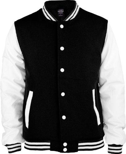 Urban Classics - Blouson Homme Black-White