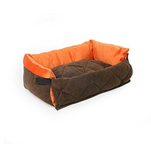 YQQ Sofá para Mascotas Suministros De Mascotas Sofá Plegable para Perros VIP Teddy Kennel Nido De Gato Plegable Suave Almacenamiento Conveniente Puede Ser Alicatado (Tamaño : L)