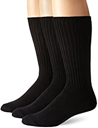 Calvin Klein Men's 3 Pack Cotton Rich Casual Rib Sock