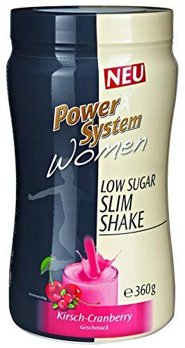 Diät-system (Power System Women LOWer Carb Protein Shake (Kirsch-Cranberry - 360g))