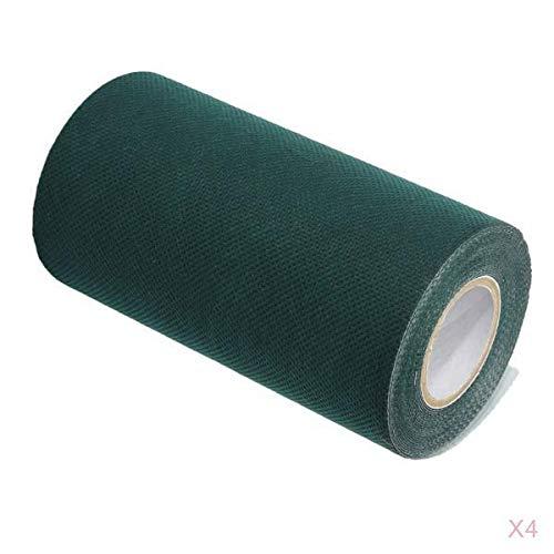 LOVIVER 4 X Kunstrasenband Selbstklebende Nahtbänder Synthetic Turf Joint