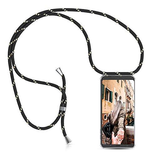 Handykette Handyhülle mit Band für Samsung Galaxy A5 2017 Cover - Handy-Kette Handy Hülle mit Kordel Umhängen -Handy Halsband Lanyard Case/Handy Band Halsband Necklace