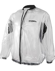 1171-006 - Oneal Splash Rain Motocross Over Jacket XXL Clear