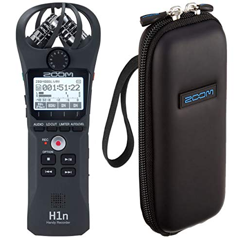 Zoom H1n Handy Audio-Recorder + Tasche Soft-Case
