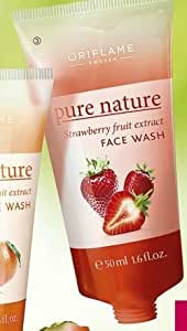 Oriflame Pure Nature Strawberry Fruit Extract Face Wash 50ml