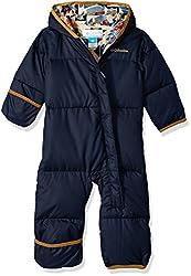 Columbia Snuggly Bunny Bunting Kinder Schneeanzug, Collegiate Navy, 6/12 Monate, SN0219