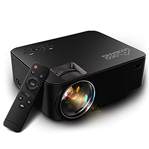 Video Projector 1080P HD, GooBang Doo T20 Multimedia Portable Mini