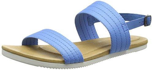TevaAvalina Sandal Gore W's - Sandali con tacco donna Blu (Ceramic Blue)