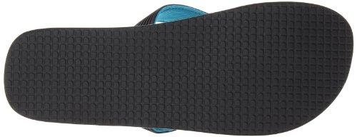 DC Shoes Herren Snap M Sandal Zehentrenner nero (black/turqoise)