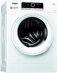 Lave linge Hublot Whirlpool FSCR80499 - Lave linge Frontal - Pose libre - capacité : 8 Kg - Vitesse d'esso