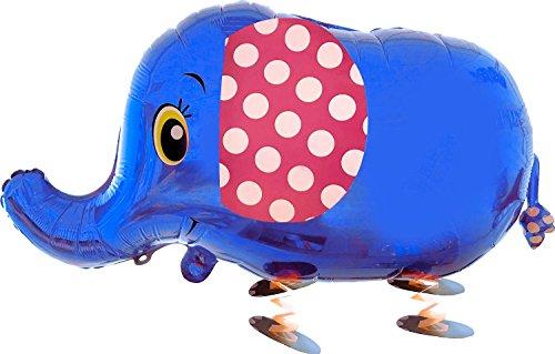 Partygram Globo con Forma de Elefante con Patas, Color Azul (PG00481)