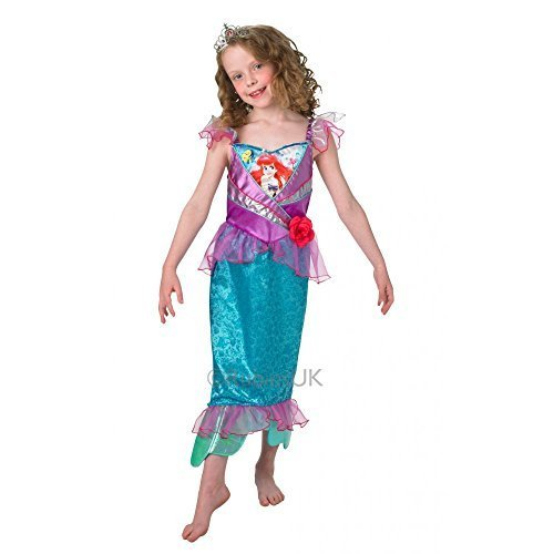DISNEY PRINCESS ~ Ariel (Shimmer) Deluxe - Kids Costume 7 - 8 years by Rubies