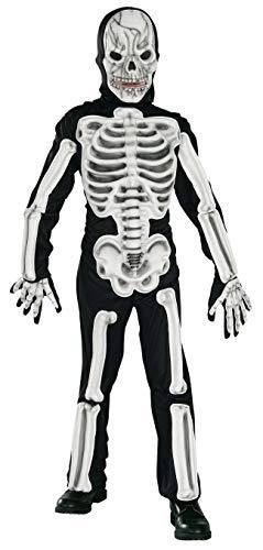 Rubie's Offizielles Eva-Skelett-Kostüm, Größe S