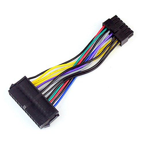 Preisvergleich Produktbild BGNing Netzteil Kabelkabel 18AWG Draht ATX 24 polig auf 14 pol. Adapterkabel für Lenovo IBM Dell Q77 B75 A75 Q75 Motherboard