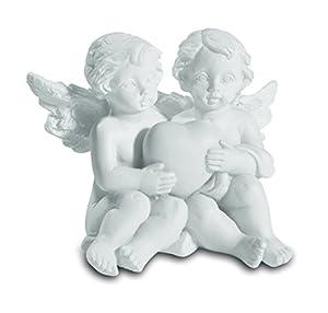 Katerina Prestige-Figura-Conjunto de 8Couples ángeles sosteniendo Corazón, hf1448