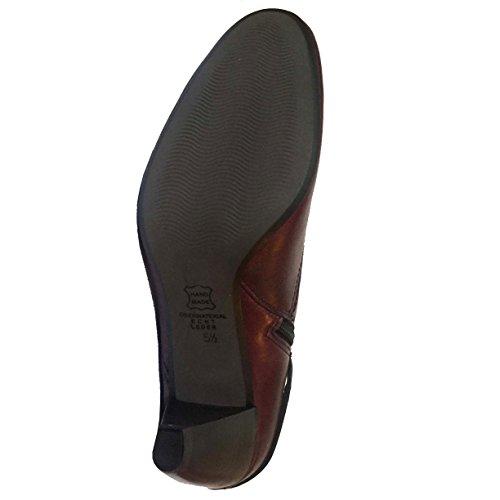 Kennel & Schmenger , Bottes Classiques femme Burgundy Leather w/ Large Strap/Buckle