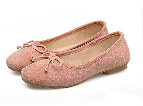 Desconocido 1to9mmsg00145 - Sandalias De Mujer Rosa