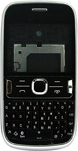 ROKK'' New Replacement Full Original Body Housing Back, Body Panel For Nokia Asha 302 Black  available at amazon for Rs.889