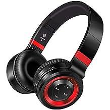 Cancelación de Ruido Auriculares Bluetooth,Pomisty Auriculares Inalámbricos Bluetooth con Micrófono Hi-Fi de