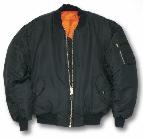 Delta Classic MA-1 Bomber Flight Jacket: Amazon.co.uk: Clothing