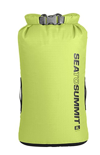 Sea to Summit Adultes Big River Drybag 8L, Vert, Volume 8 L, 420D Nylon Ripstop, TPU laminé, Hypalon Passants Pack Sacs, Multicolore, Taille Unique