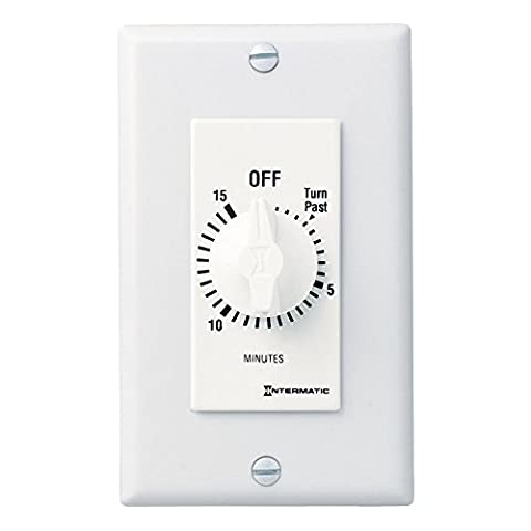 Intermatic SW15MWK 15-Minute Spring Wound Timer, White