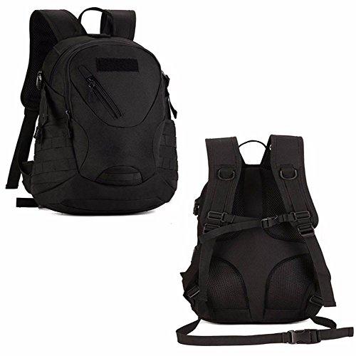 TBB-Zaino Borsa di alpinismo sportivo outdoor sacco di equitazione usura impermeabile,Colore 20-35L Black 20-35L