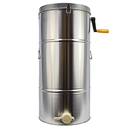 TTLIFE 2 frame Stainless Steel Radial Honey Extractor for Keeping Bee filters dispenser press machine 3
