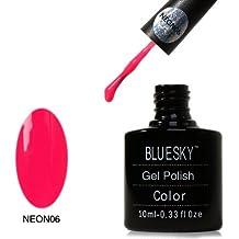Esmalte de uñas Bluesky UV/LED, Neon Cherise de ...