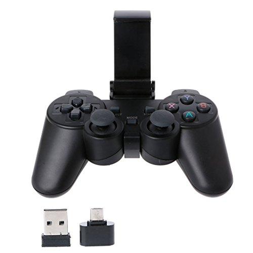 shanghaisty Shanghai 2.4G Wireless-Controller Gamepad Micro-USB-OTG-Adapter-Unterstützung für Telefon TV-Box -