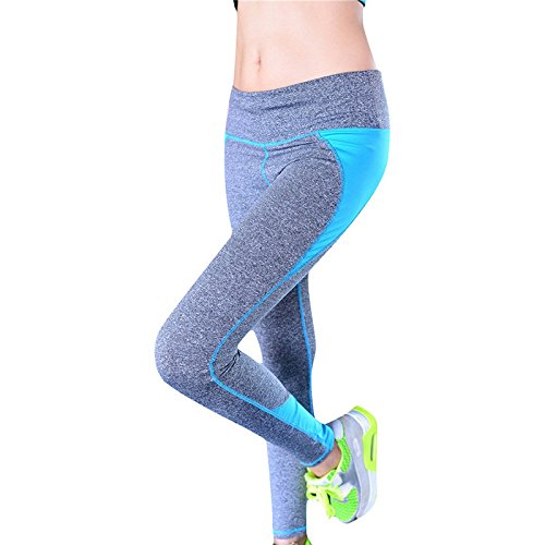 Femmes flexibles YOGA Sport Gym Pantalons Collants Leggings Courir Fitness pantalon