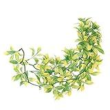 perfk Terrarium Künstliche Pflanze Hängepflanze Kunstpflanze Dekoration - L
