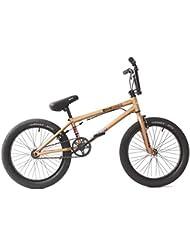 KHE Bmx bicicleta Dirty Harry Mate de bronce oro solo 11,4kg.