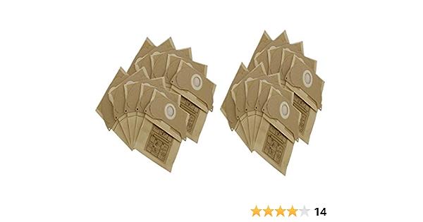 Find A Spare Sacchetti di Ricambio per aspirapolvere Karcher a Doppio Strato Confezione da 5