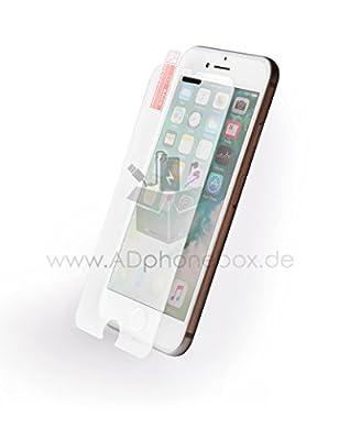 [2 Stück] OMOTON Panzerglas Displayschutzfolie kompatibel mit iPhone 6s und iPhone 6, 9H Härte, Anti-Kratzen, Anti-Öl, Anti-Bläschen, lebenslange Garantie
