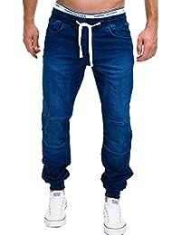 MERISH Herren Denim Jogging Jeans Stone washed Modell J3008