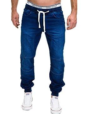 MERISH Herren Denim Jeans Jogg Jeans Style Modell J3008