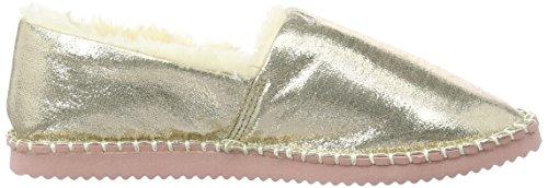 flip*flop Damen Flippadrilla Shiny Slipper Gold (Pale gold 913)